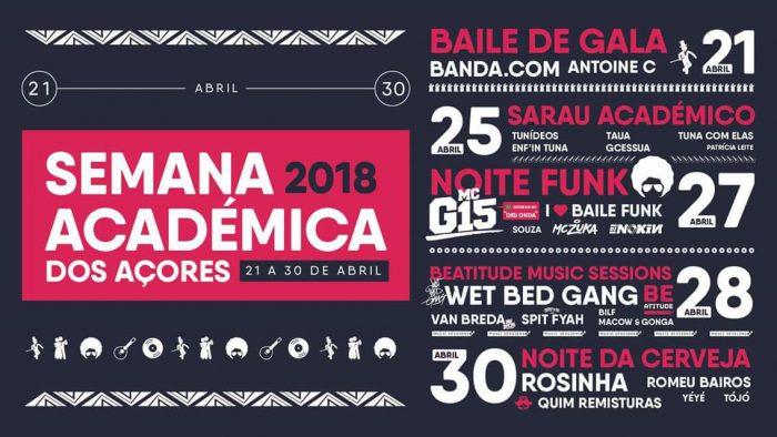 Semana Académica dos Açores 2018